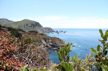 Der Highway 1 an der Pazifikküste