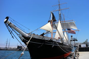 Am Pier von San Diego