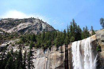 Yosemite National Park. Nevada Falls