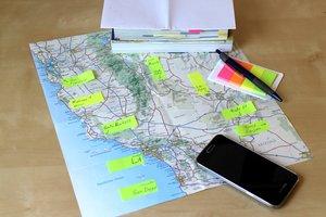 Unsere Route entlang der Westküste der USA. Tipps und Empfehlungen.