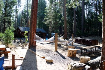 Evergreen Lodge Campingplatz nahe des Yosemite National Parks