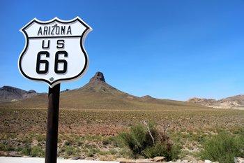 Die vereinsamte Route 66 ist einen Besuch wert.