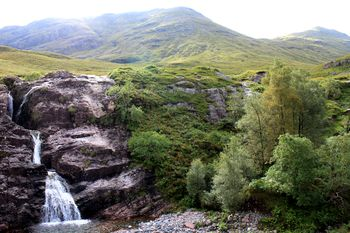 The Meeting of the Three Waters in Glen Coe