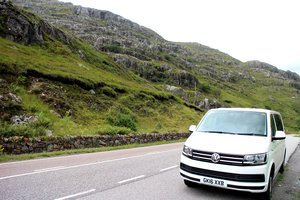 Route unserer Rundreise durch Schottland