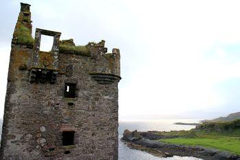 Die Burgruine Gylen Castle auf Kerrera