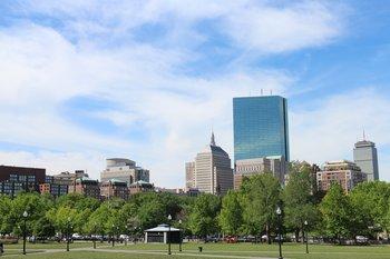 Ostküste: Skyline vom schönen Boston