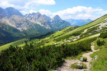 Eine einfache Route auf die Zugspitze für Wanderanfänger